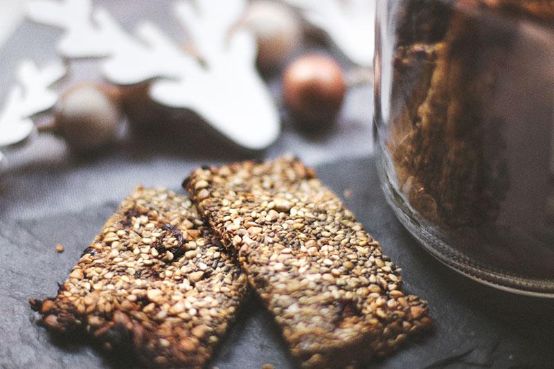 Crackers de semillas receta de terra veritas