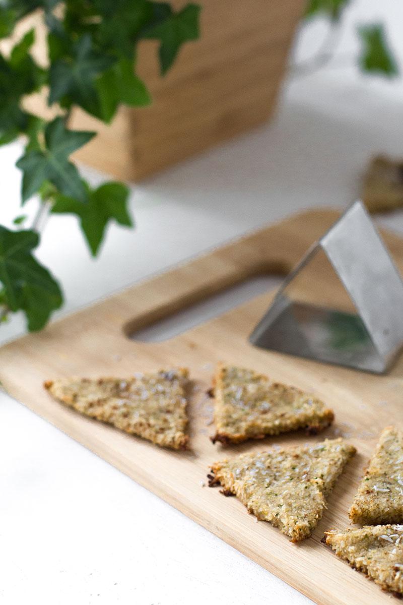 Galletas de coco platano y brocoli, sin gluten ni harinas