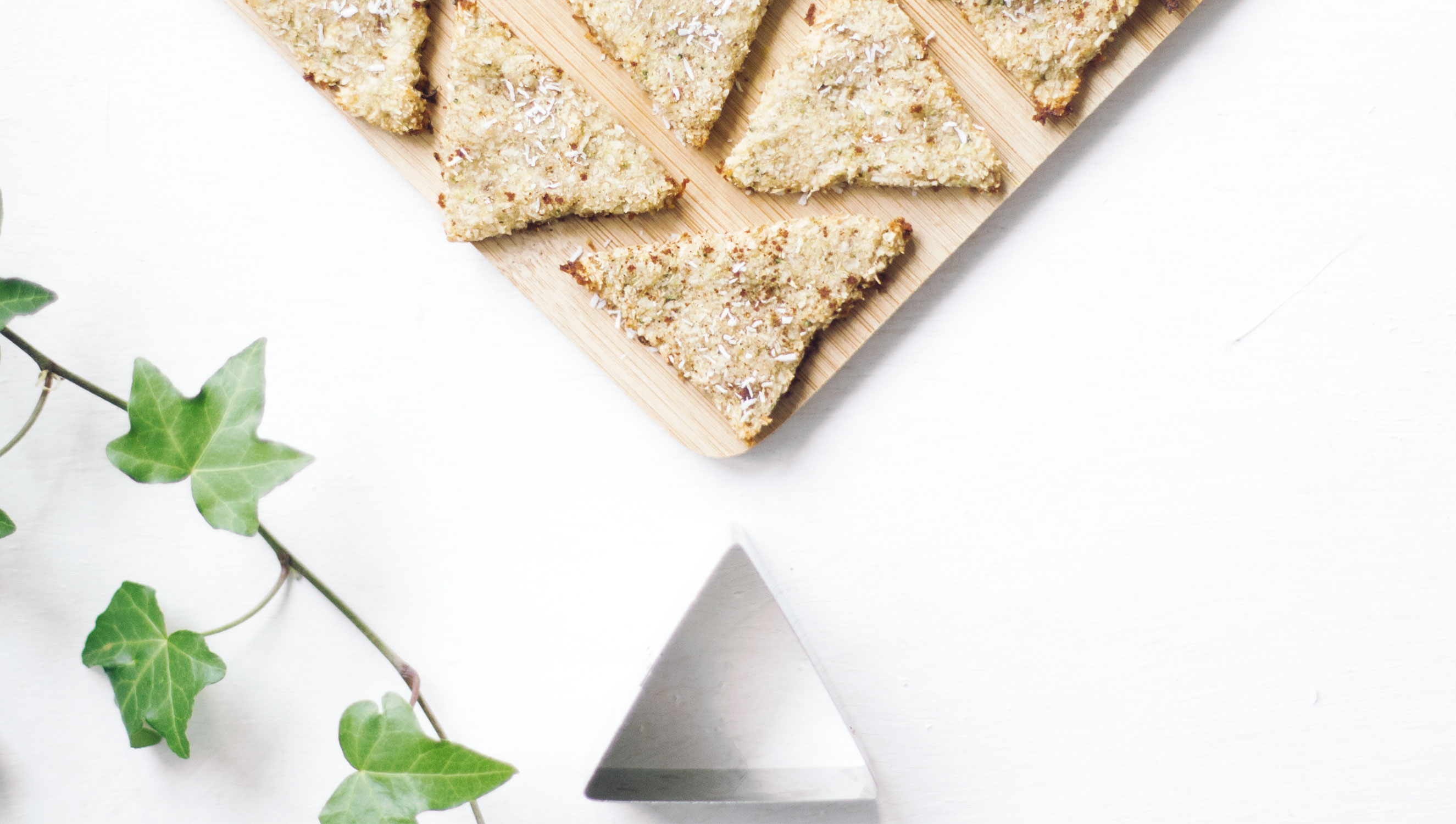 galletas de coco platano y brocoli sin azucar de la cierva verde